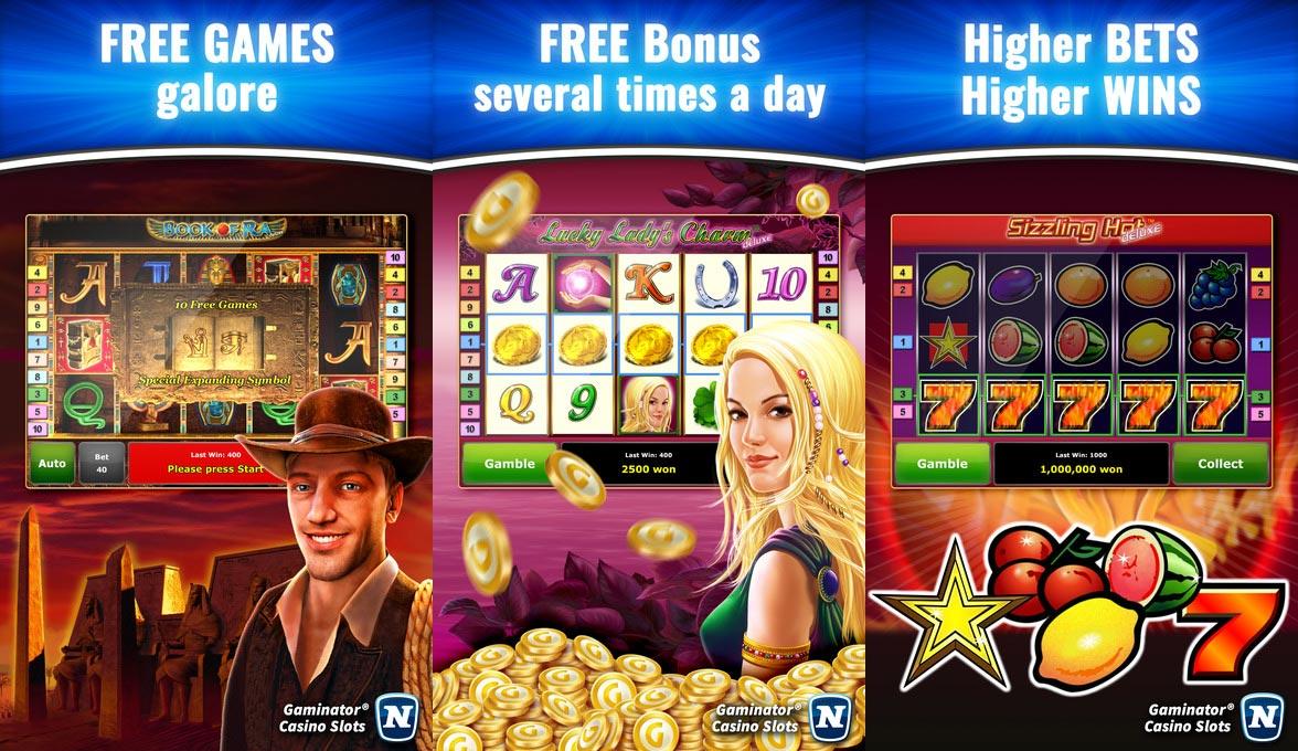 Free slot gaminator games online