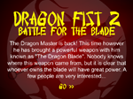 Dragon Fist 2: Battle for the Blade - флеш игра онлайн