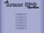 The Armor RPG Experiment - флеш игра онлайн