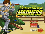 Monster Joust Madness - флеш игра онлайн