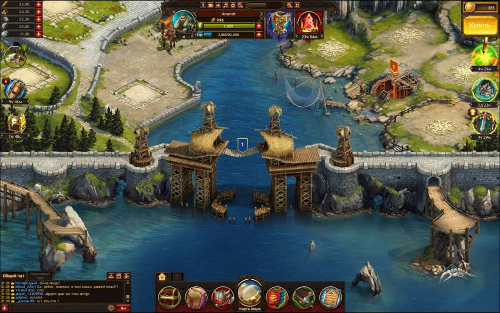 Vikings: War of Clans скриншот 2