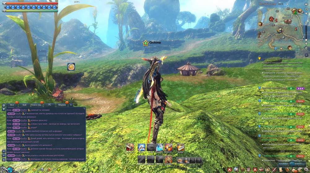 Blade and Soul скриншот 2