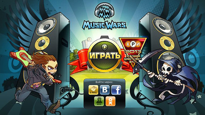 Обзор MMORPG Music Wars
