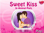 Sweet Kiss in Animal Park - флеш игра онлайн