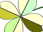 Rotating Flower Coloring - флеш игра онлайн